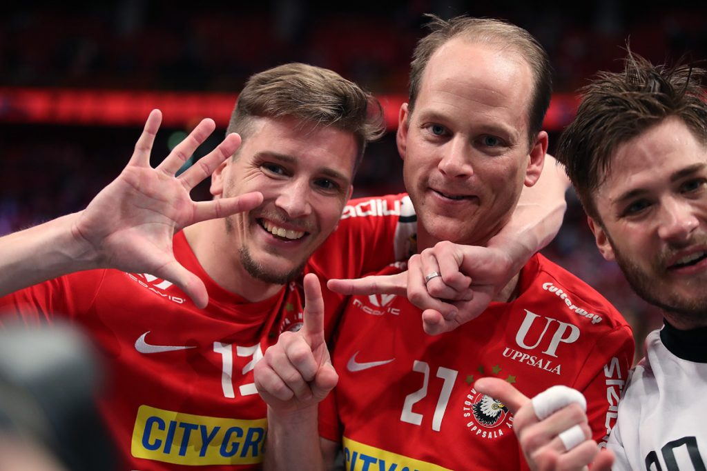 Mattias Samuelsson a Jesper Berggren. Foto: Per Wiklund