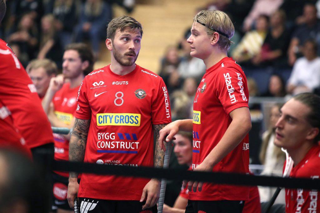 Jimmie Pettersson a Hampus Ahrén. Foto: Per Wiklund